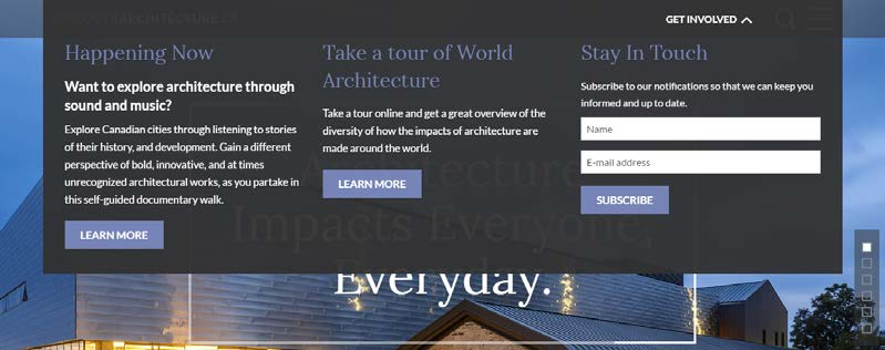 Discover architecture - User Experience and Information Architecture WordPress development